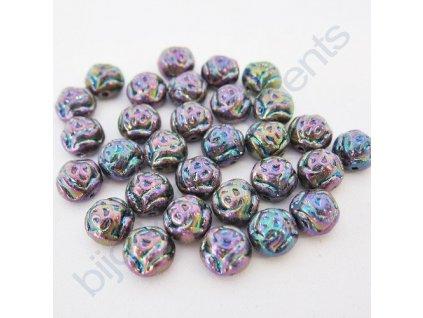 Dvoudírkové kabošony PRECIOSA Candy Rose™ - fialový iris
