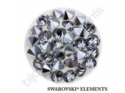 SWAROVSKI CRYSTALS - Crystal rocks, transparentní, crystal CAL, 15mm