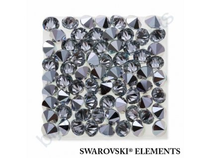 SWAROVSKI ELEMENTS - Crystal rocks, transparentní, crystal CAL, 20x20mm