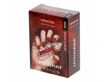 Kamínky Swarovski Crystals pro zdobení nehtů - Heart's Desire