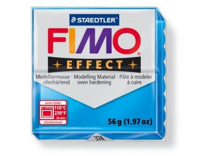 Fimo Efect cca 56g, transparentní modrá