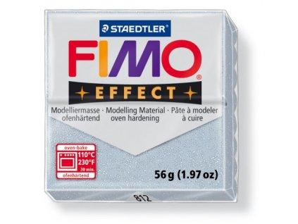 Fimo Efect cca 56g, stříbrná