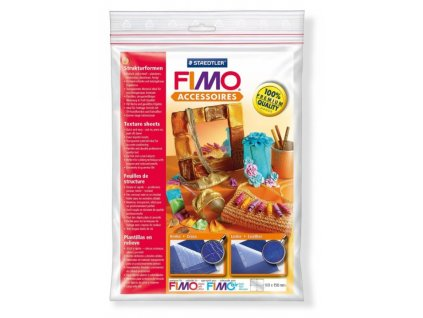 FIMO Textura - kůže, cca 168x150mm