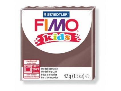 FIMO Kids, cca 42g, hnědá