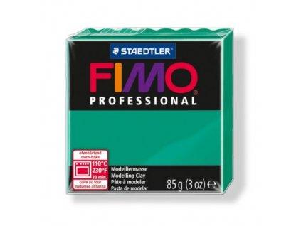 FIMO Professional, cca 85g, zelená