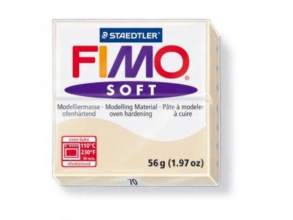 Fimo Soft cca 56g, béžová