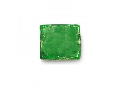 Skleněné korálky zelené (emerald)