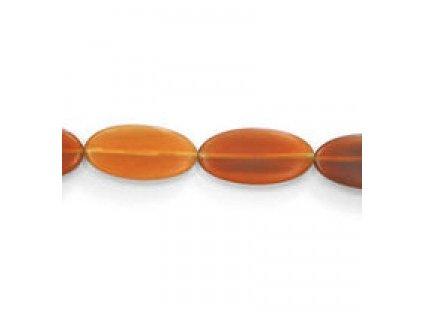 Perle z rohoviny - oválné