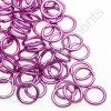 Spojovací kroužek cca 10x1,7mm, světle fialový