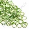Spojovací kroužek cca 4x0,8mm, zelený