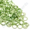 Spojovací kroužek cca 5x0,8mm, zelený