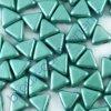 Kheops par Puca, Metallic Mat Green, 6x6x6mm, 12ks