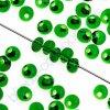 PRECIOSA Drops - tmavě zelená