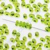 PRECIOSA Farfalle™ - zelené, cca 3,2x6,5mm