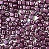 Minos par Puca, Pastel Bordeaux, 3x2,5mm, 36ks