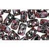 Matubo Rulla - dvoudírkový skleněný váleček, Tweedy Pink, 3x5 mm, 10 g