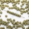 skleněné korálky - ramš, cca 2,7x3,6mm