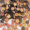 skleněné korálky - ramš, cca 6x3mm