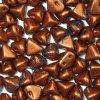 Super-Kheops par Puca, Bronze Red Mat, 6mm, 12ks