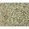 TOHO rokajl, Gold-Lined Crystal, vel.2,2 mm, průtah 0,8 mm