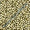 TOHO rokajl, Gold Lined Crystal, vel.1,5 mm, průtah 0,5 mm