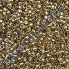 TOHO rokajl, Gold Lined Rainbow Lt.Jonquil, vel.1,5 mm, průtah 0,5 mm