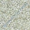 TOHO rokajl, Silver-Lined Frosted Crystal, vel.1,5 mm, průtah 0,5 mm