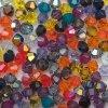 Korálky Swarovski - sluníčko, 3mm, mix barev (foto je pouze ilustrační a barvy v mixu se mohou lišit).