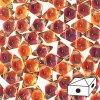 Skleněné mačkané korálky - dvoudírkové DIAMONDUO™ 5x8mm - Prismatic Phoenix