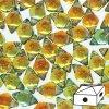 Skleněné mačkané korálky - dvoudírkové DIAMONDUO™ 5x8mm - Prismatic Sunset
