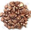 Amos® par Puca®, copper gold mat, 8x5x3 mm