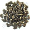 Amos® par Puca®, dark bronze, 8x5x3 mm