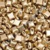 WIBEDUO, zlatá, vel. 8x8 mm