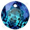 SWAROVSKI CRYSTALS přívěsek - Classic Cut, crystal bermuda blue, 10mm