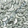 Arcos par Puca, Silver Aluminium Mat, 10x5mm, 12ks