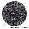 SWAROVSKI ELEMENTS - Crystal fabric, černý, crystal CAL, 30mm