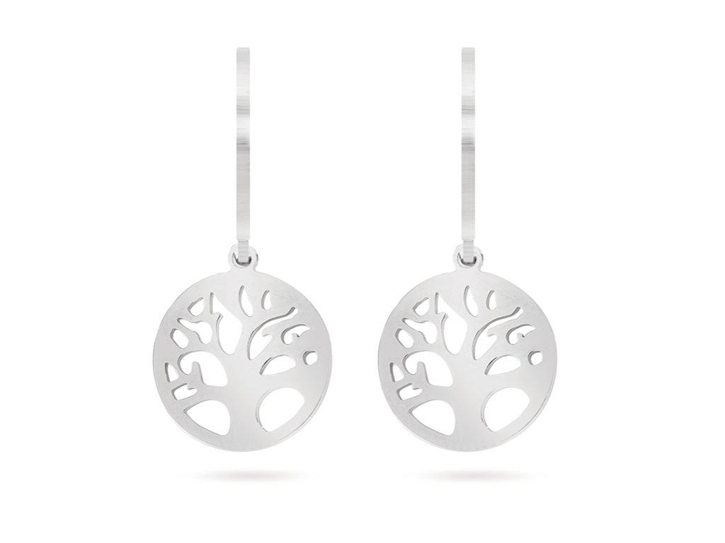 Chirurgická ocel náušnice, strom života 1002066