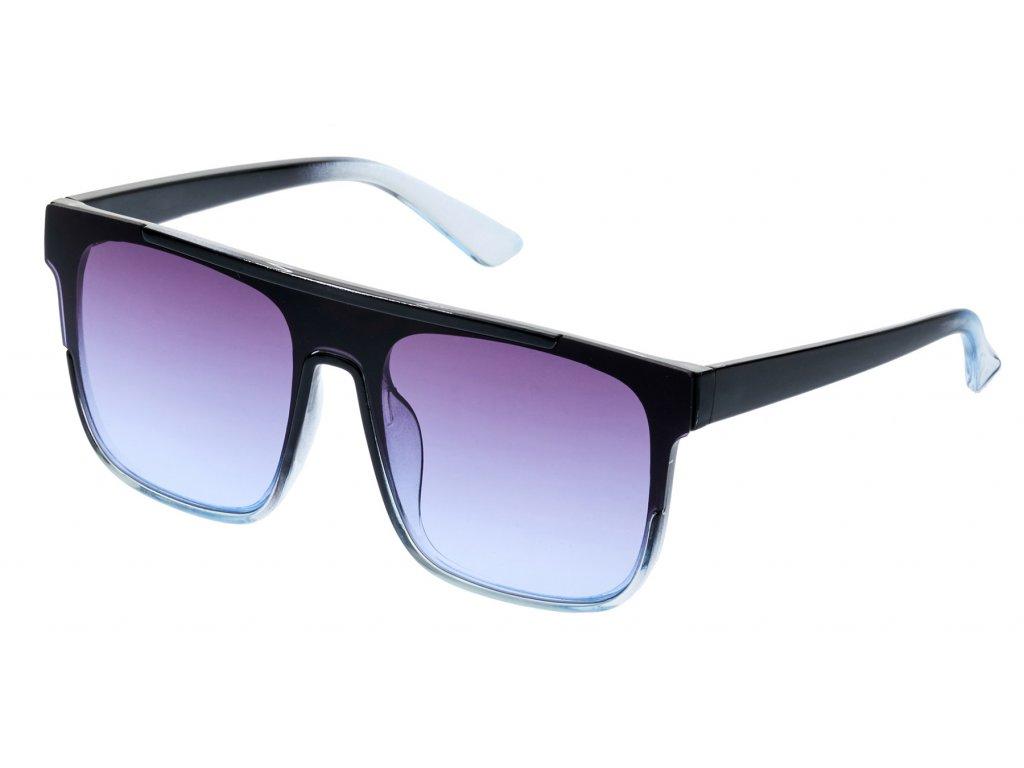 Dámské sluneční brýle-modrá, černo-modrá obruba C1303,9001244
