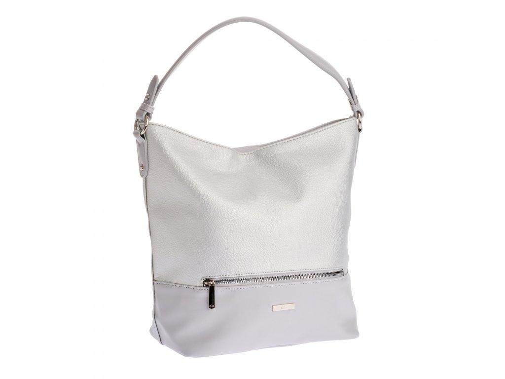 David Jones dámská kabelka 2118 stříbrná