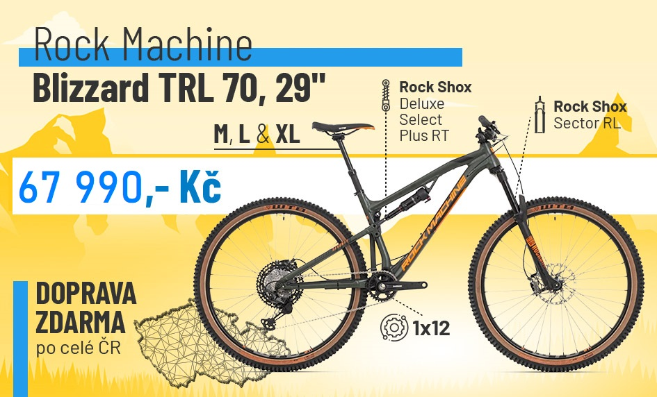 "Rock Machine Blizzard TRL 70 29"" 2020"