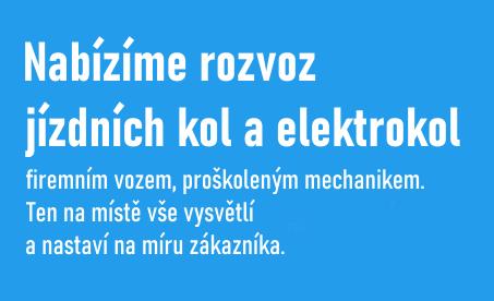 Rozvoz kol a elektrokol