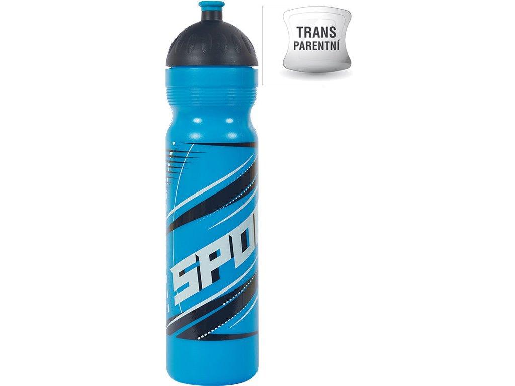 Zdravá lahev 1 l Sport modrý