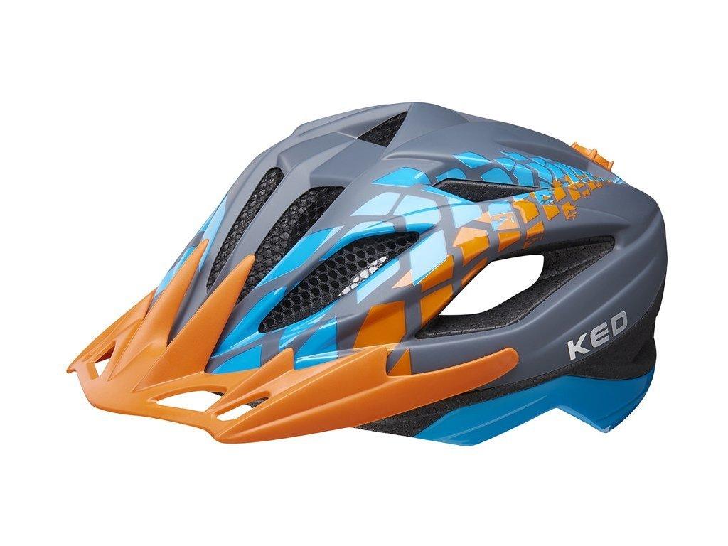 přilba KED Street Junior Pro S grey 49-55 cm