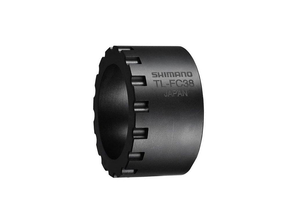 stahovák Shimano TL-FC38 pro demontáž převodníku motoru STePS DU-E6000/E6001/E6010/E6050