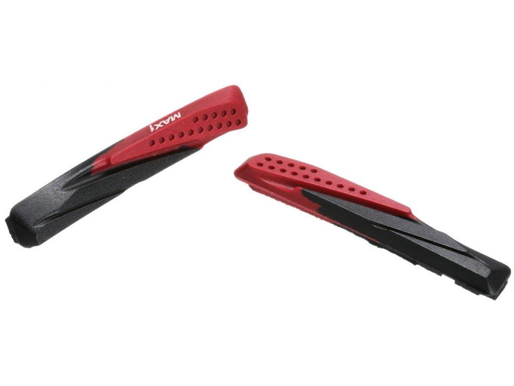 brzdová gumička MAX1 72 mm červená