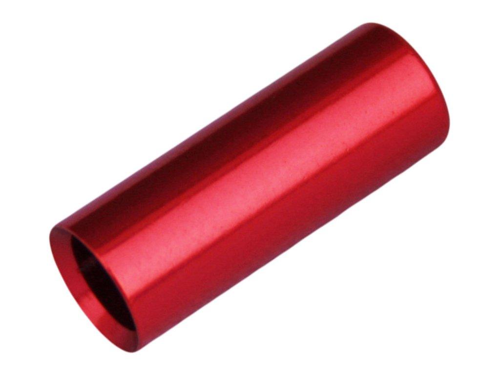 koncovka bowdenu MAX1 CNC Alu 4mm červená
