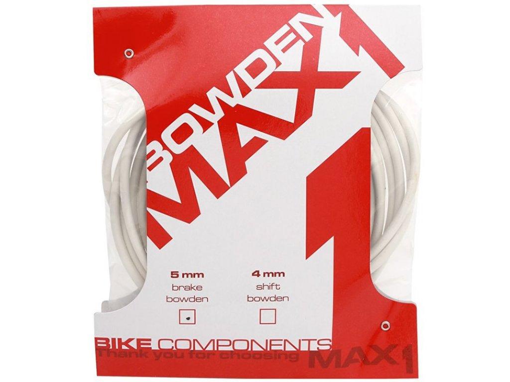 bowden MAX1 5mm bílý balení 3m