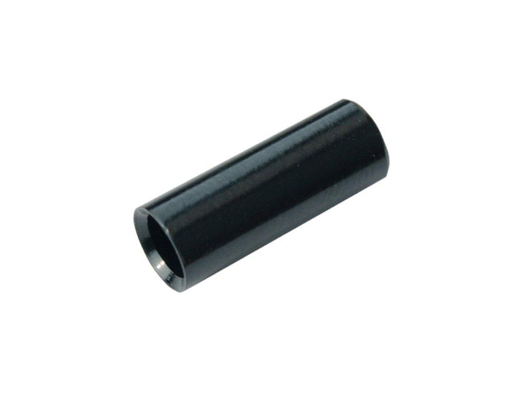 koncovka bowdenu MAX1 CNC Alu 4mm utěsněná černá