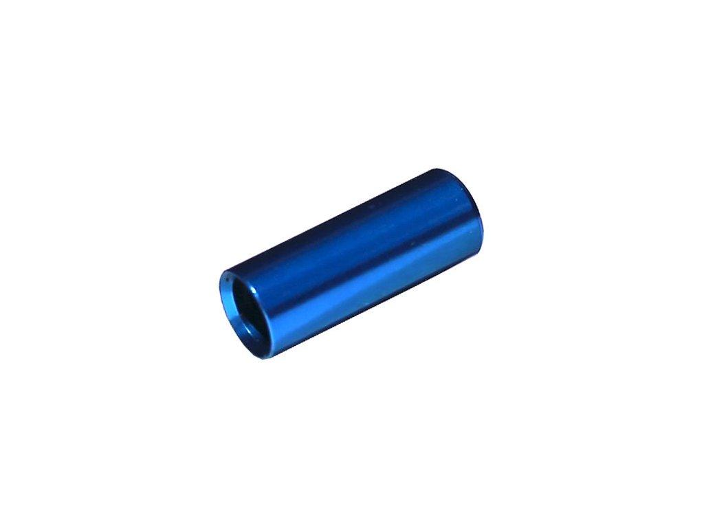 koncovka bowdenu MAX1 CNC Alu 4mm utěsněná modrá