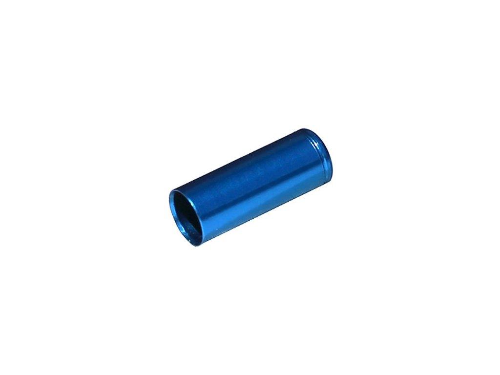 koncovka bowdenu MAX1 CNC Alu 5mm utěsněná modrá